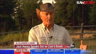 Jack Hanna suggests jail time for the man who killed Cecil the lion
