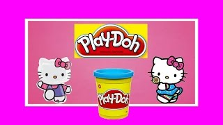 Сюрпризы из  Play-Doh игрушки Хелло Китти  Surprises Play-Doh toys Hello Kitty