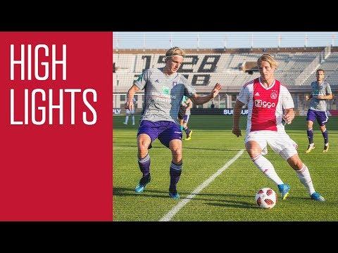 Highlights Ajax - Anderlecht (Olympisch Stadion)