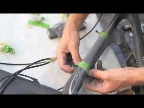 Carbon fiber frame repair