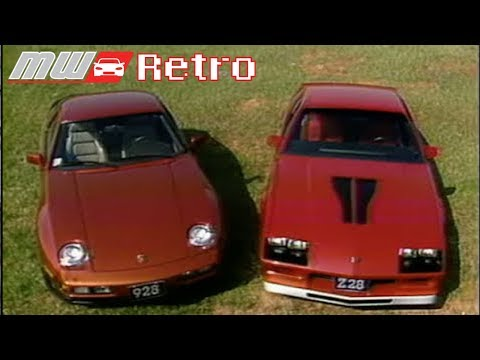 MotorWeek   Retro Review: '83 928S Vs. Z28