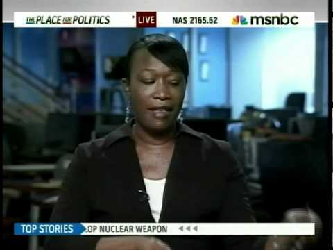 August 20, 2010 - Joy Reid on MSNBC with Tamron Hall, discussing the