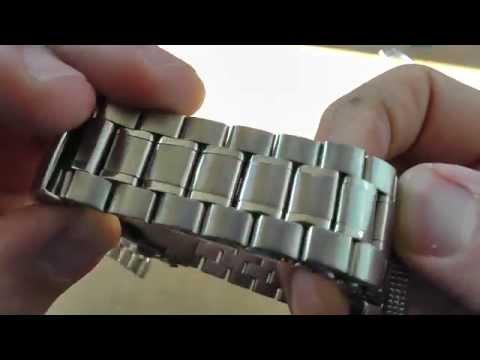 Обзор стального браслета для часов (22 мм)