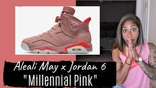 "Talking Sneaker Releases with TJ - Aleali May x Jordan 6 ""Millennial Pink"" - MUST HAVE for Ladies!"