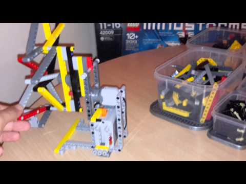 4 Bar Linkage LEGO technic construction