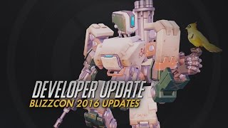 Developer Update | BlizzCon 2016 Recap | Overwatch