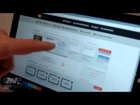 ISE 2015: IntuiLab Presents IntuiFace Software Platform in the Samsung Stand