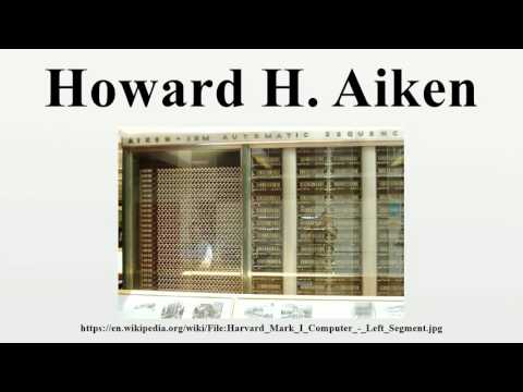 howard aiken Howard h aiken, 作者: adam cornelius bert, chromo publishing, please note that the content of this book primarily consists of articles available from wikipedia.
