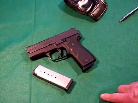 Kahr K40 pistol - oh yeah! - Desktop review