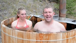 Why We Built a Hot Tub & Deck Before Our Off Grid House