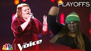 The Voice Playoffs| Makenzie Thomas OMGGGGG!!! | Reaction