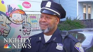 This Boston Officer's Vehicle? An Ice Cream Truck | NBC Nightly News