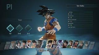 Jump Force - All Beta Characters [1080p HD]