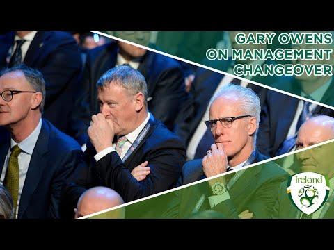 Interim FAI CEO Gary Owens on Ireland management changeover