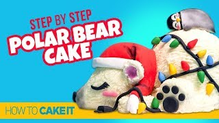 How To Make A Holiday Polar Bear Cake by Veronica A. | How To Cake It Step By Step
