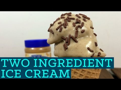 How To Make Homemade Healthy Easy Ice Cream Dessert Recipe - Two Ingredient Takeover E05