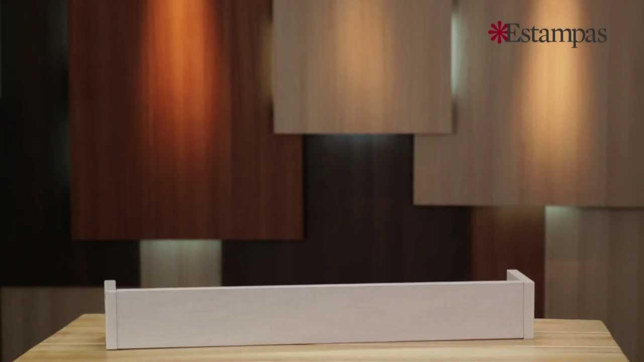 Cenefa para cortina youtube for Cenefas de vinilo para cocinas