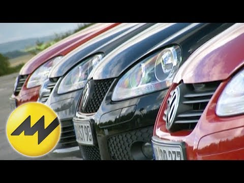 VW Golf GT 2.0 TDI vs. R 32 vs. GTI vs. GT 1.4 TSI: Sportlich Golf fahren - der Vergleich