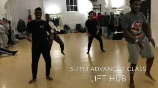 Flavour ft Psquare -sexy Rosey| Dance class|