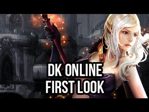 DK Online (Free MMORPG): Watcha Playin'? Gameplay First Look