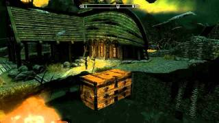 Skyrim glitch chests (with some of the best items) [merchant chests]