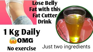 How to lose Belly Fat || Magical Fat cutter drink || Weight loss drink ||