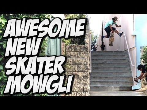 AWESOME NEW SKATER MOGLEY HERRERA !!! - A DAY WITH NKA -