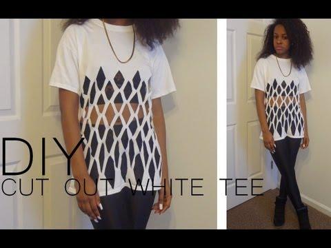 Cute shirt designs cutting