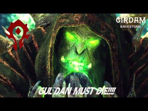 World of Warcraft | BASTIÓN NOCTURNO MÍTICO | WARRIOR FURY | TRIES A GUL'DAN MITICO!!!! ILLIDAN 62%!