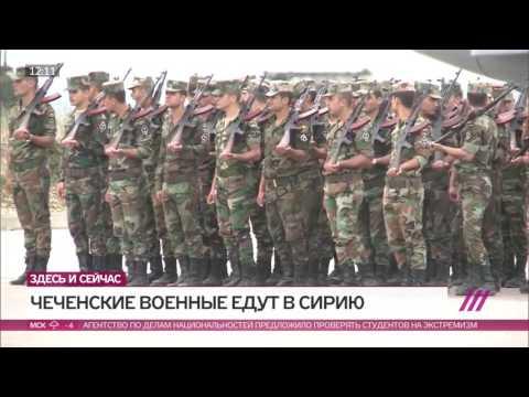 Чеченских военных отправят в Сирию