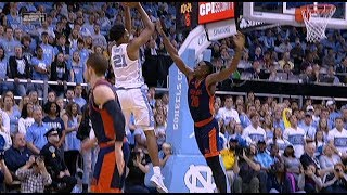 UNC Men's Basketball: Sterling Manley Records a Double-Double vs. Bucknell