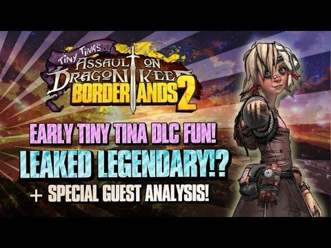 Borderlands 2: Tiny Tina's DLC LEAKED LEGENDARY & Guns!? + A Little Definitive Info & Badonkadonks