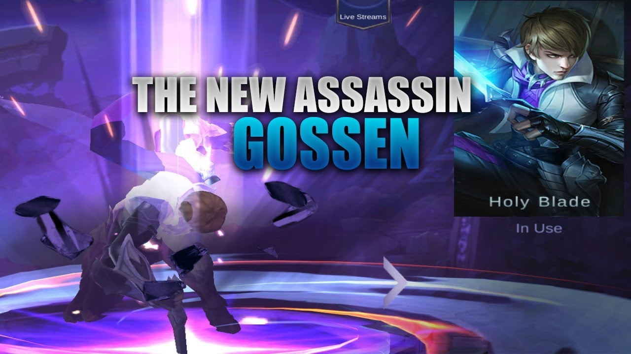 THE NEW OP HERO GOSSEN - MOBILE LEGENDS - GUIDE - GAMEPLAY - TIPS - 2000 DIAMONDS GIVEAWAY - BUILD