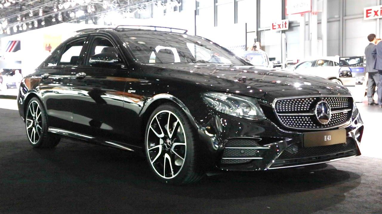 2017 mercedes amg e 43 2016 new york auto show youtube