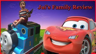 Best Toy Cars Learning Video for Kids | Disney Cars Lightning McQueen | Jai's Family Review