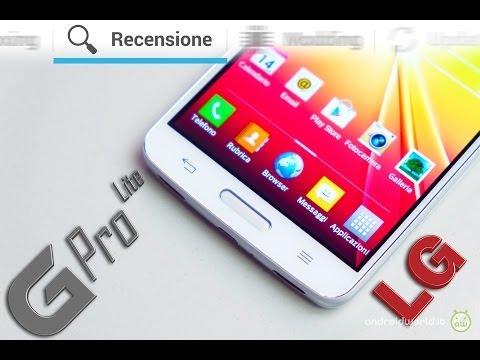 LG G Pro Lite. recensione in italiano