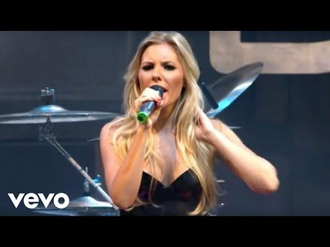 The Saturdays - Work (Live At V Festival, 2009)