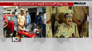 DGP Mahender Reddy about Criminals geo-tag Survey | Hyderabad