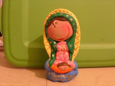 Virgencitas para niñas de yeso para pintar - Imagui