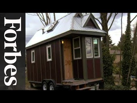 Engineer's Tiny House On Wheels
