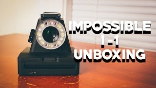 UNBOXING THE IMPOSSIBLE I-1 ANALOG INSTANT CAMERA