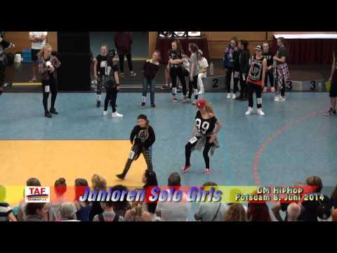 Taf Dm Hh 2014 - Junioren Solo Girls - Jadzia video