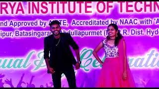 Undiporaadhey Husharu song performance   AITS Tirupati