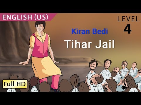 Kiran Bedi, Tihar Jail: Learn English (us) - Story For Children bookbox video