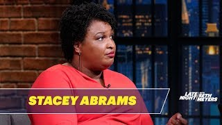 Stacey Abrams Knows What to Do If Trump Declares a National Emergency
