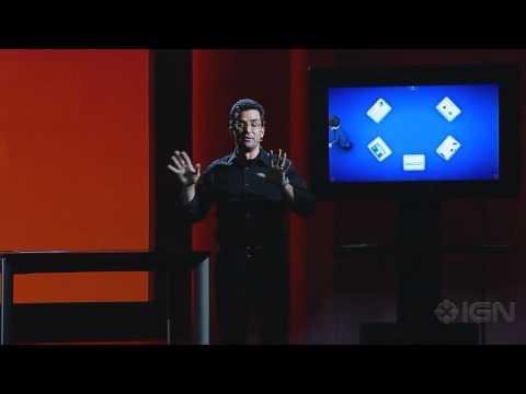 Microsoft Surface 2 Demo - CES 2011