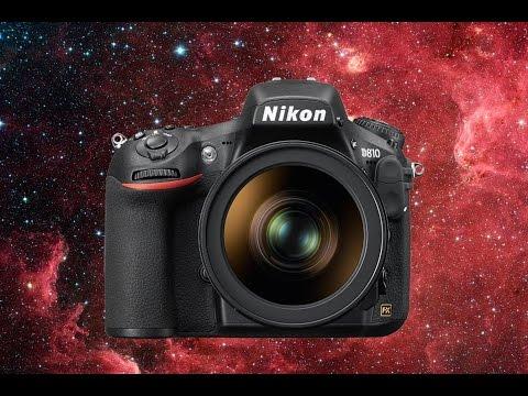 Nikon d810a dslr for astrophotography