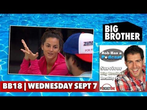 Big Brother 18 Wednesday 9/7/16 | CBS BB18 Recap & Johnny Mac Interview | Sept. 7 Big Brother 2016