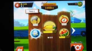 Angry Birds GO! Hal Unlocked - Unlock the Green Bird in the Stunt Chapter - in Full HD