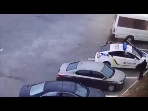Убийство полицейского в Днепре 25 09 2016